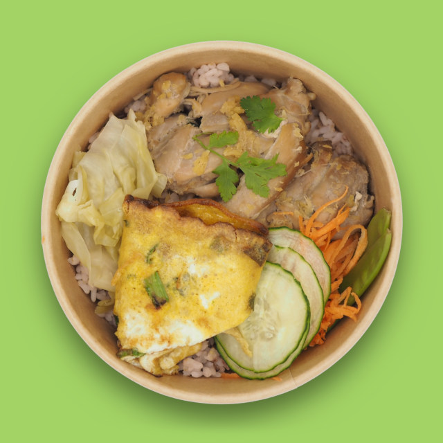 Rice bowl 'MI'Bowl MIBAP Chicken'