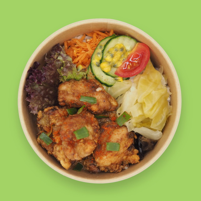 Reis-Bowl 'MI'Bowl Fried Chicken'