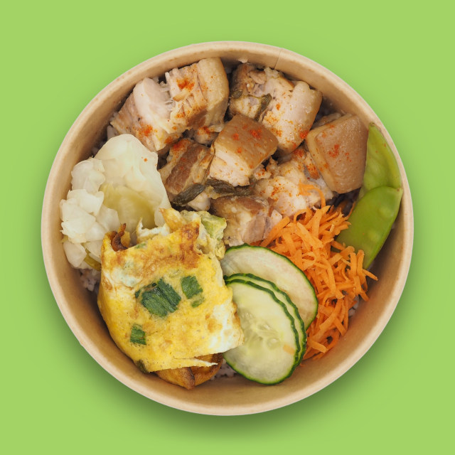 Rice bowl 'MI'Bowl MIBAP Pork'