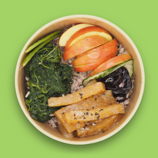 Rice bowl 'MI'Bowl Spinach'
