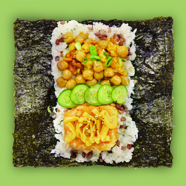 Open rice sandwich 'MIBAP Chickpea'